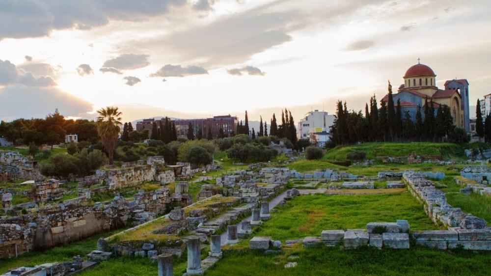 Visite guidée en famille sur la mythologie grecque à Athènes (groupes)
