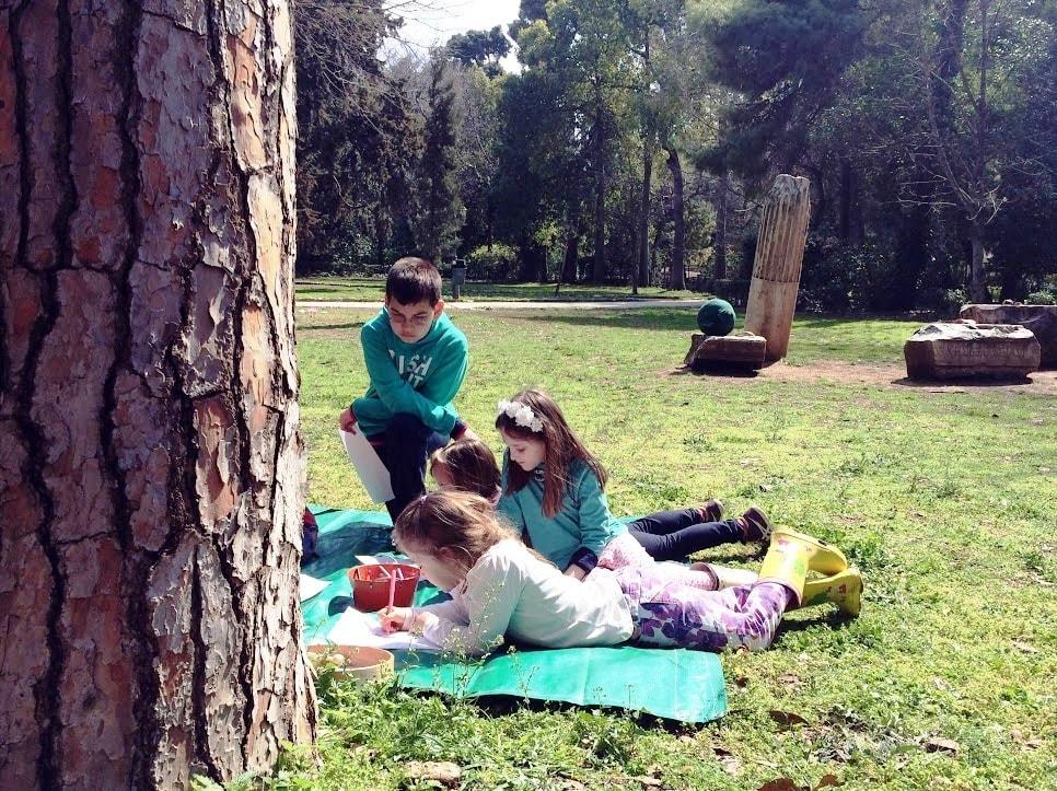 the myths of goddess athena kidslovegreece private workshop athens families