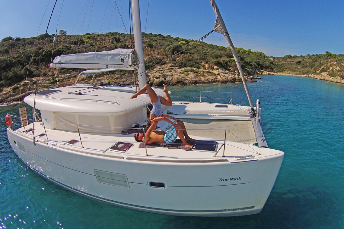 athens family sailing trip