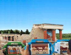 The Palace of Knossos 3D app – A unique guiding tool for Families