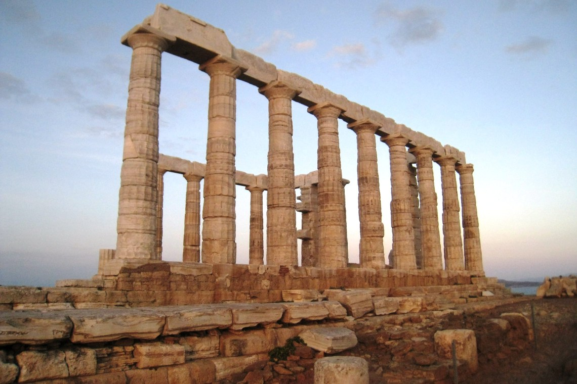 Sounion archaeological site temple of Poseidon family guided tour kids love greece Athens Percy Jackson Mythology Family Trip 7-day Package