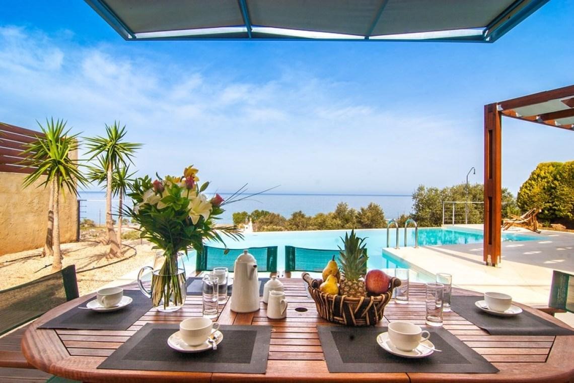 family villa corallium kids love greece sfinari western chania crete accommodation for families