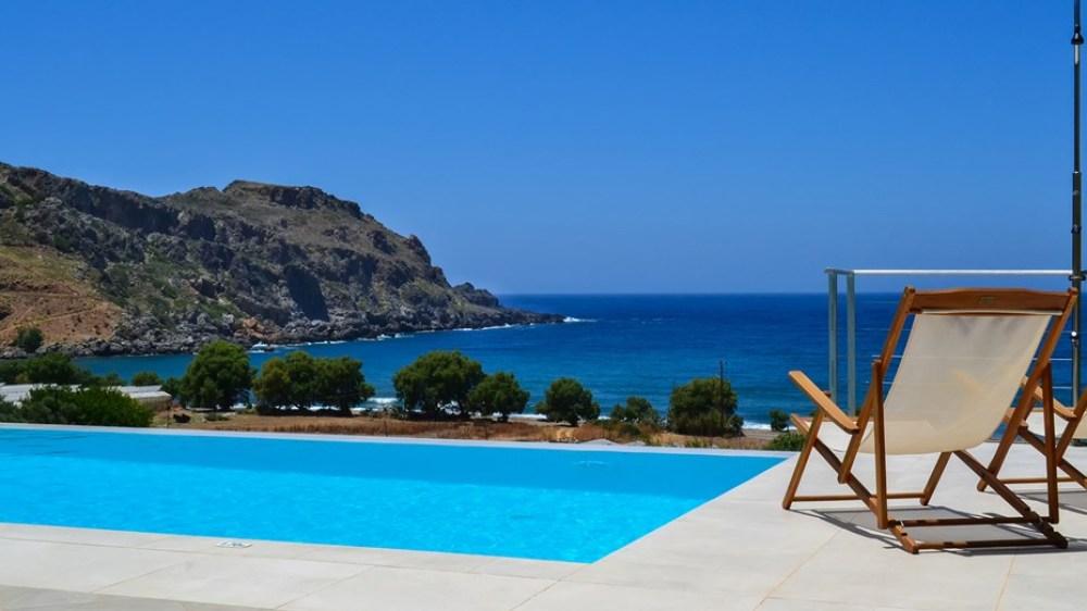 Family Villa Corallium, Sfinari, Western Chania, Crete