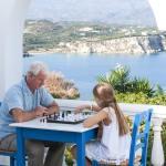 luxury family villa amor plaka almyrida chania crete kids love greece accommodation for families