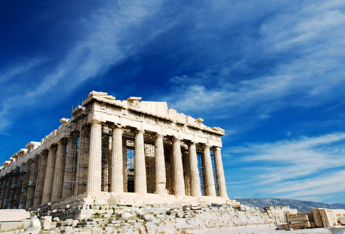 Acropolis family guided tour Athens activities for families Percy Jackson Mythology Family Trip 7-day Package kids love greece