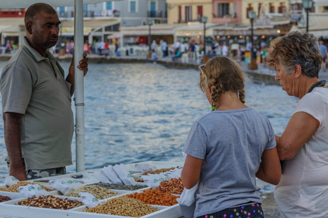 Chania Street Stories Family Walking Tour activities for families kids love greece Crete