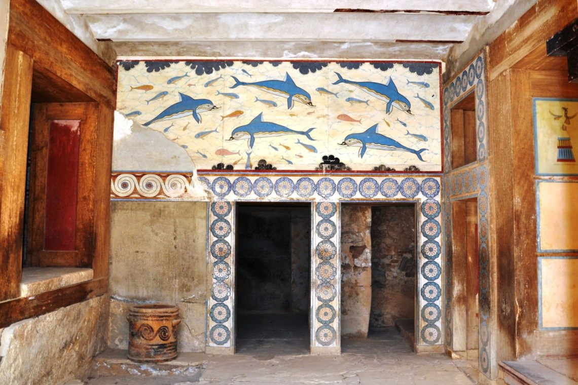 Knossos family guided tour Percy Jackson Mythology Family Trip
