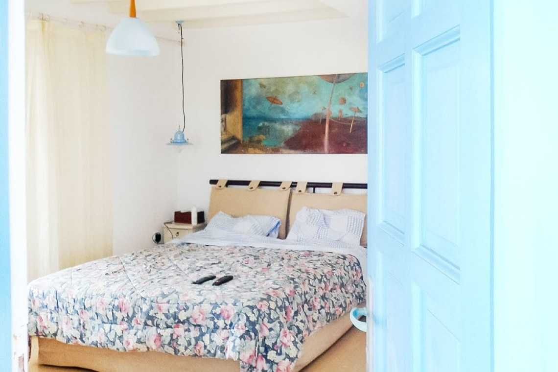accommodation for families kids love greece cosy family vacation maisonette in Kalafatis Mykonos island cyclades