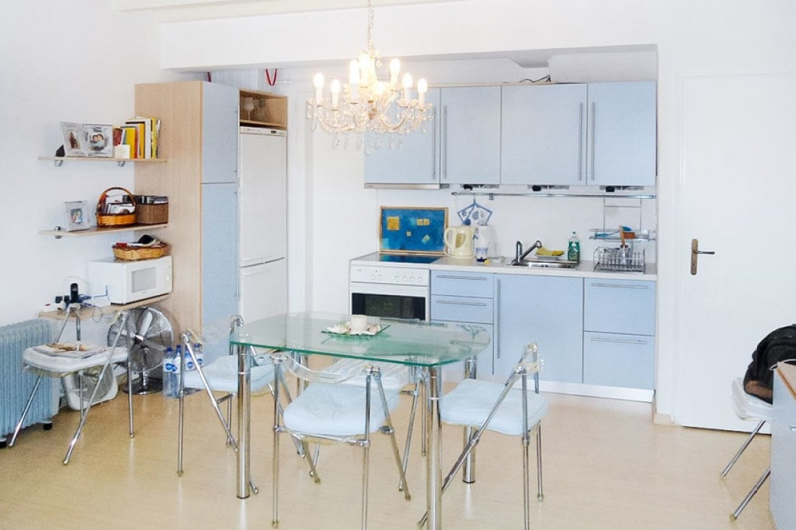 cyclades accommodation for families cosy family vacation maisonette in Kalafatis Mykonos island kids love greece