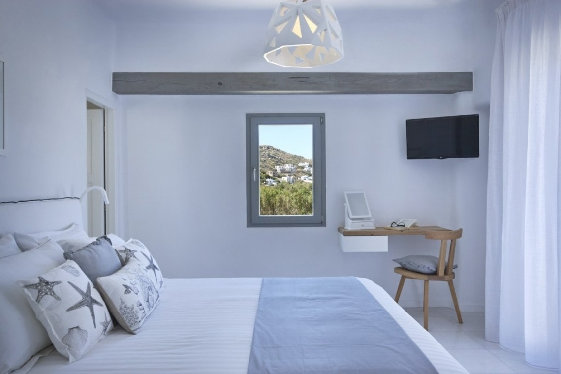accommodation for families kids love greece plaka south private family villa naxos island aqua breeze