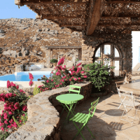 The Agradi Family Residence in Myconos Island