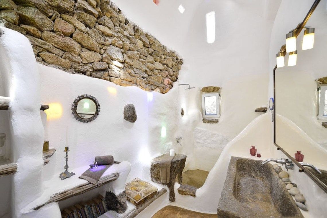 luxury villa cyclades kids love greece the Drakothea family residence in Myconos island accommodation for families