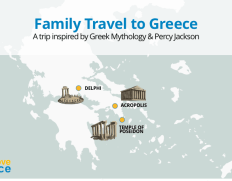 3-day Percy Jackson Greek Mythology Family Vacation Package