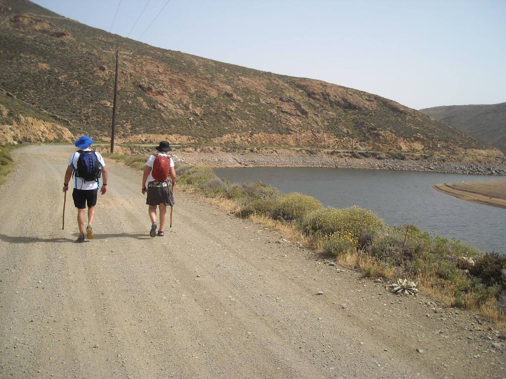 kids love greece guided family hiking adventure in Mykonos island Cyclades activities for families