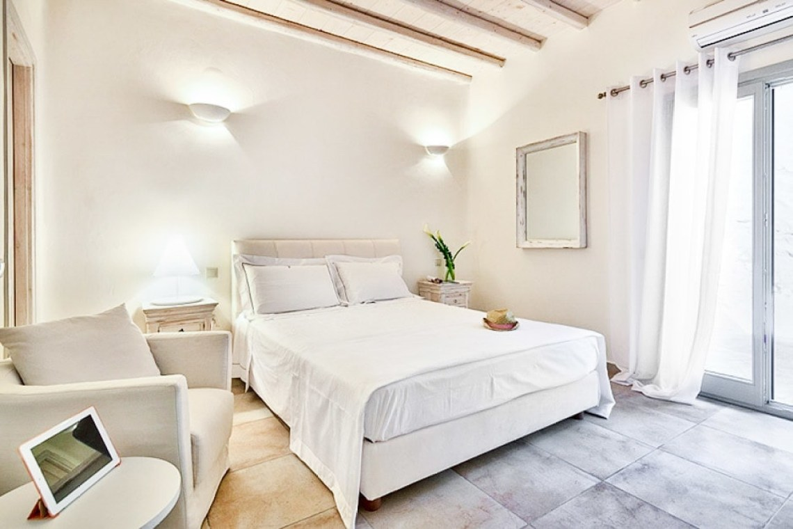 spacious family vacation villa in Mykonos island kids love greece accommodation for families Sophia residence Ornos bay Cyclades
