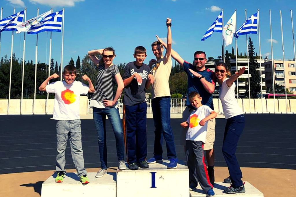 Olympic games activity for families athens kidslovegreece.com