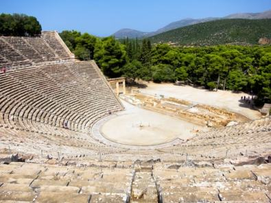 Epidavros family road trip in Greece kids love greece