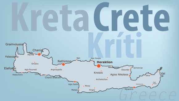 family road trip in Crete map kids love greece activities for families