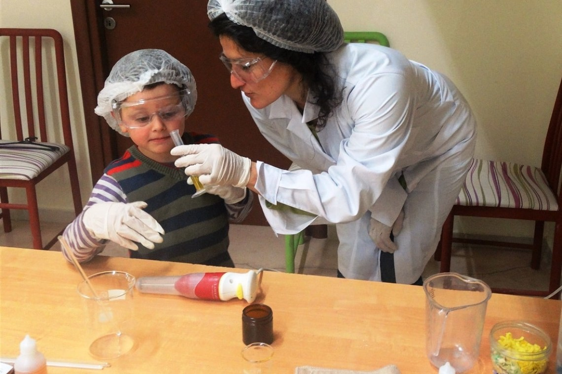 traditional soap making family workshop Crete Heraklion kids love greece activities for families