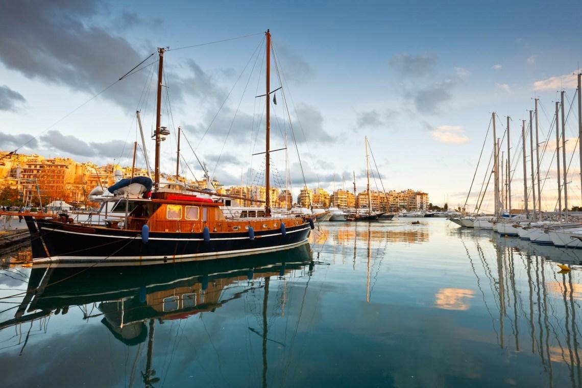 yachts marina Zeas Athens