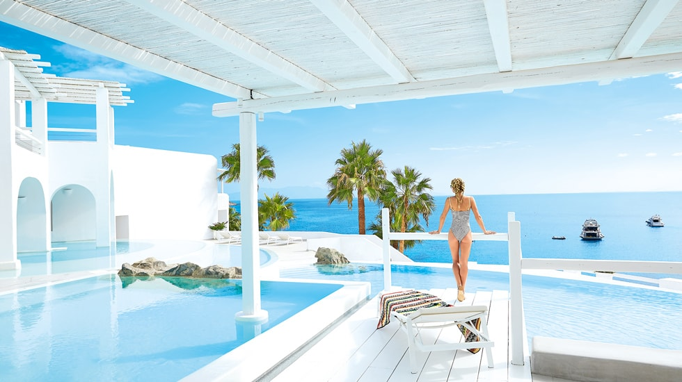 Best Island Beaches For Partying Mykonos St Barts: Luxury 5 Star Hotels For Families In Greece
