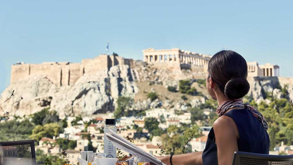 Greek Breakfast under the Acropolis