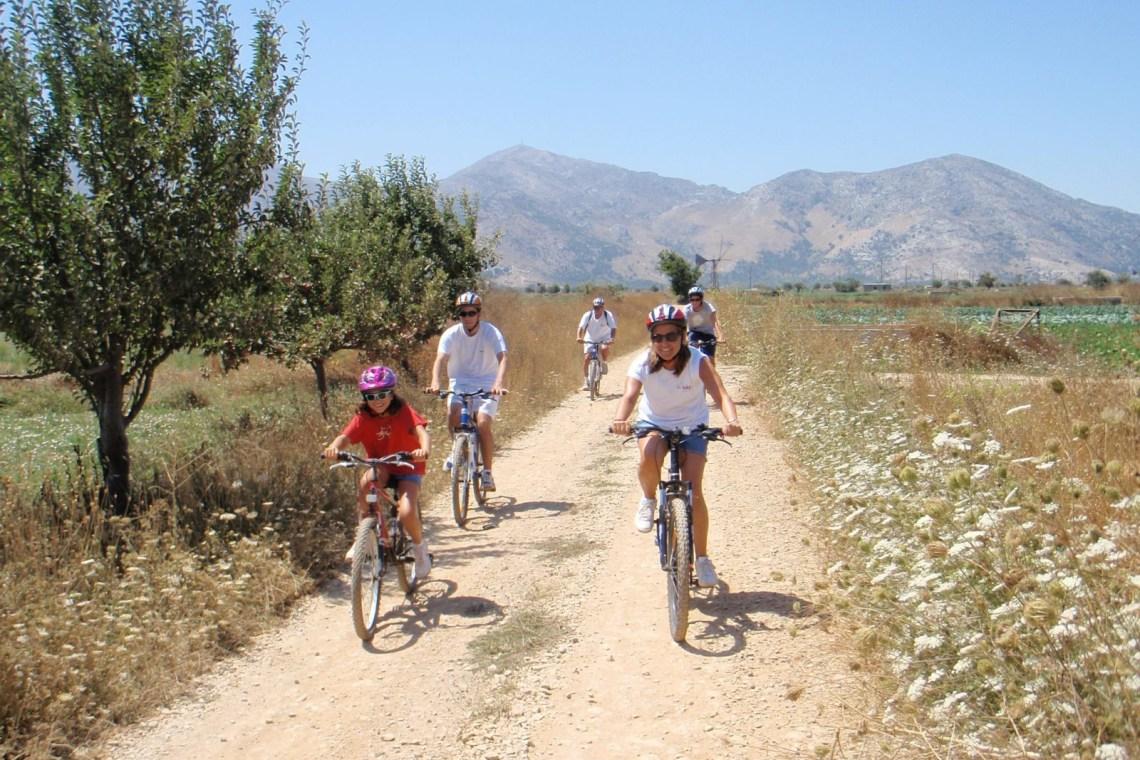 mountain biking for families outdoor activities crete kids love greece