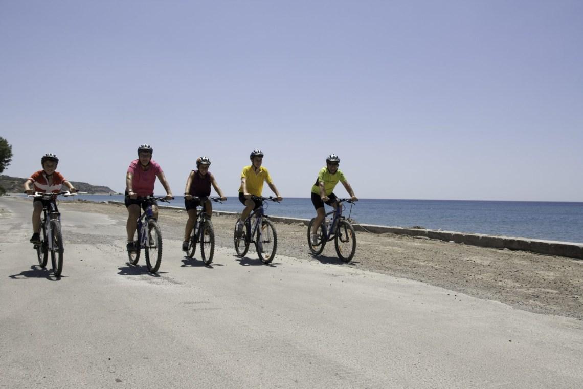 kids love greece outdoor activities crete mountain biking for families