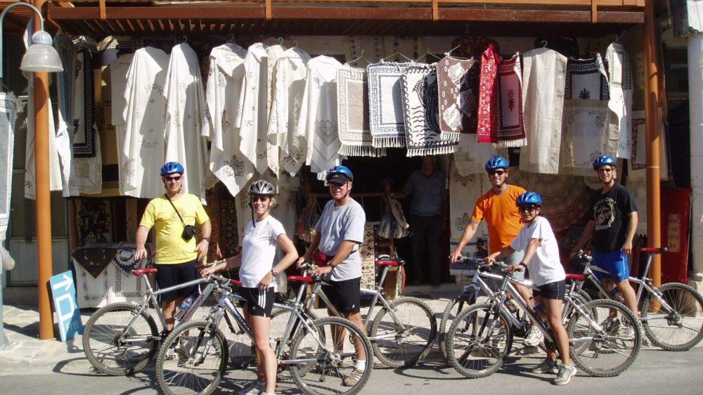 Mountain Biking for Families around the Lassithi Plateau, Crete