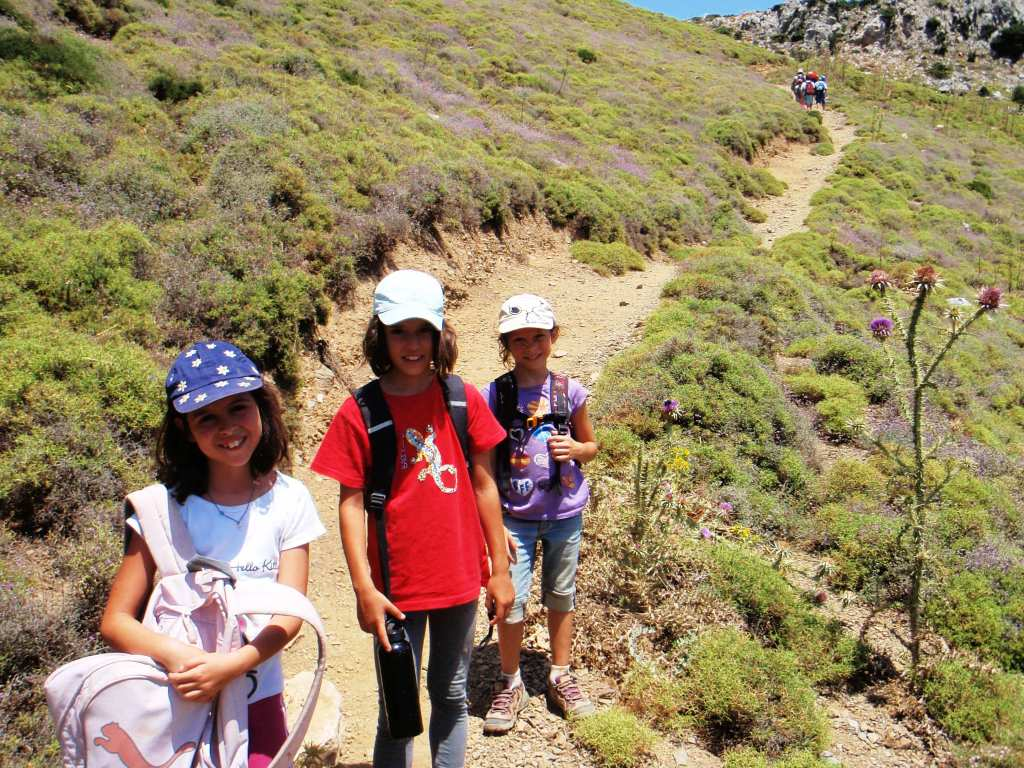 family trekking excursions crete outdoor activities for families kids love greece