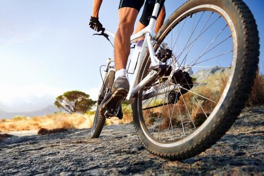 mountain biking Greece