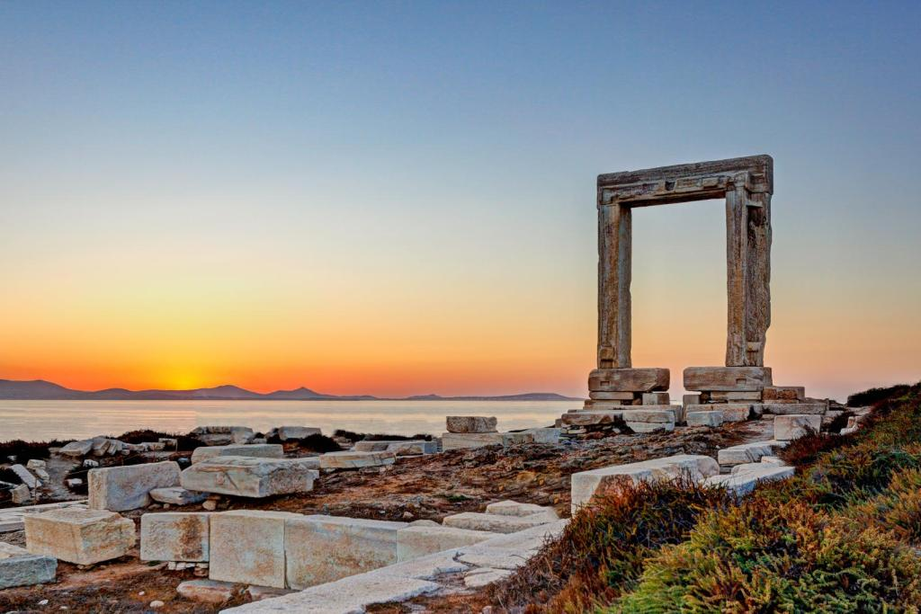 portara at Naxos island