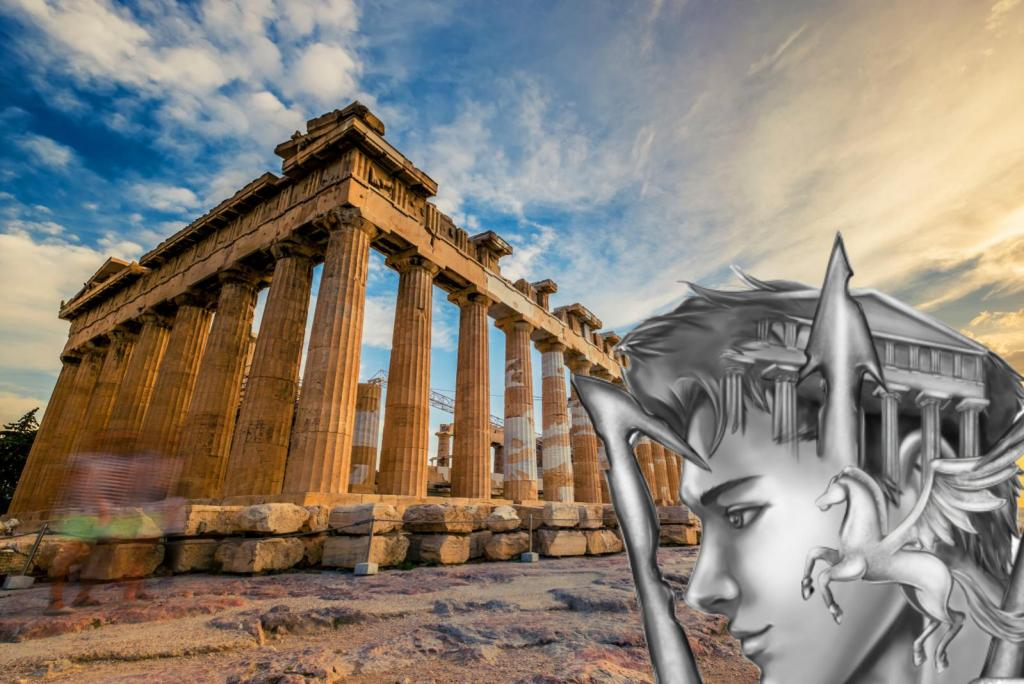 Parthenon Percy Jackson Mythology tours in Athens KidsLoveGreece.com