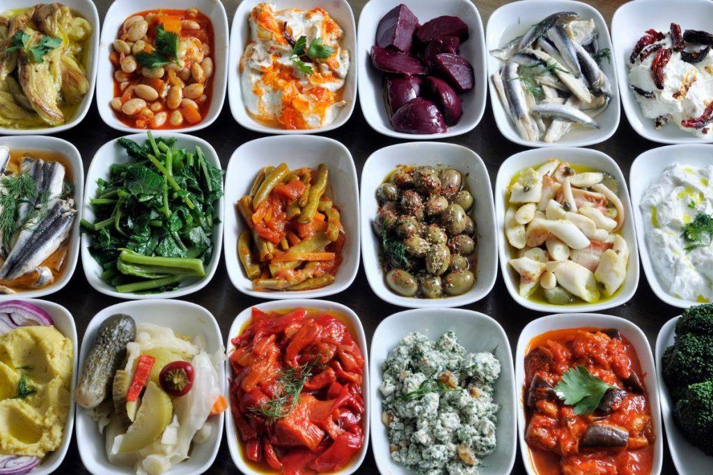 Greek mezes Greek food DP