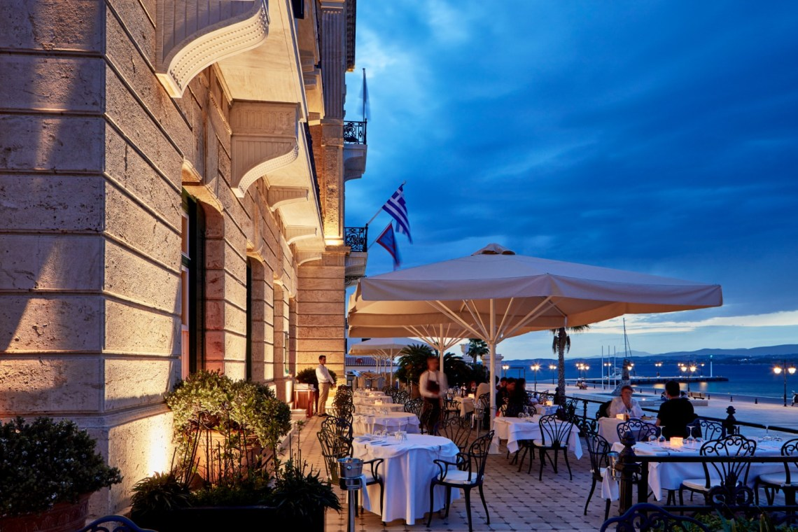 Poseidonion Grand hotel Spetses Luxury 1 Restaurant