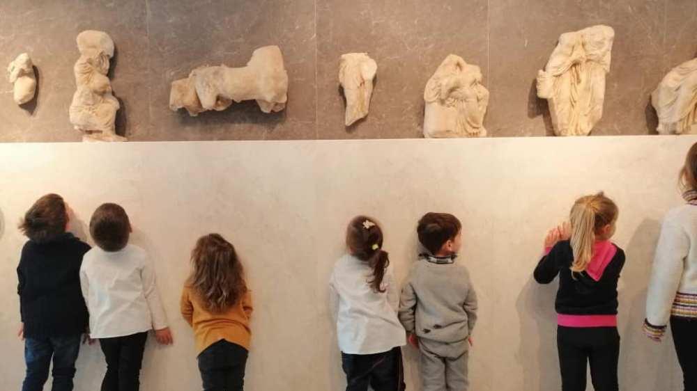 Μια βόλτα στο Μουσείο της Ακρόπολης για νήπια