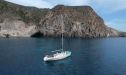 Family sailing trip in Paros