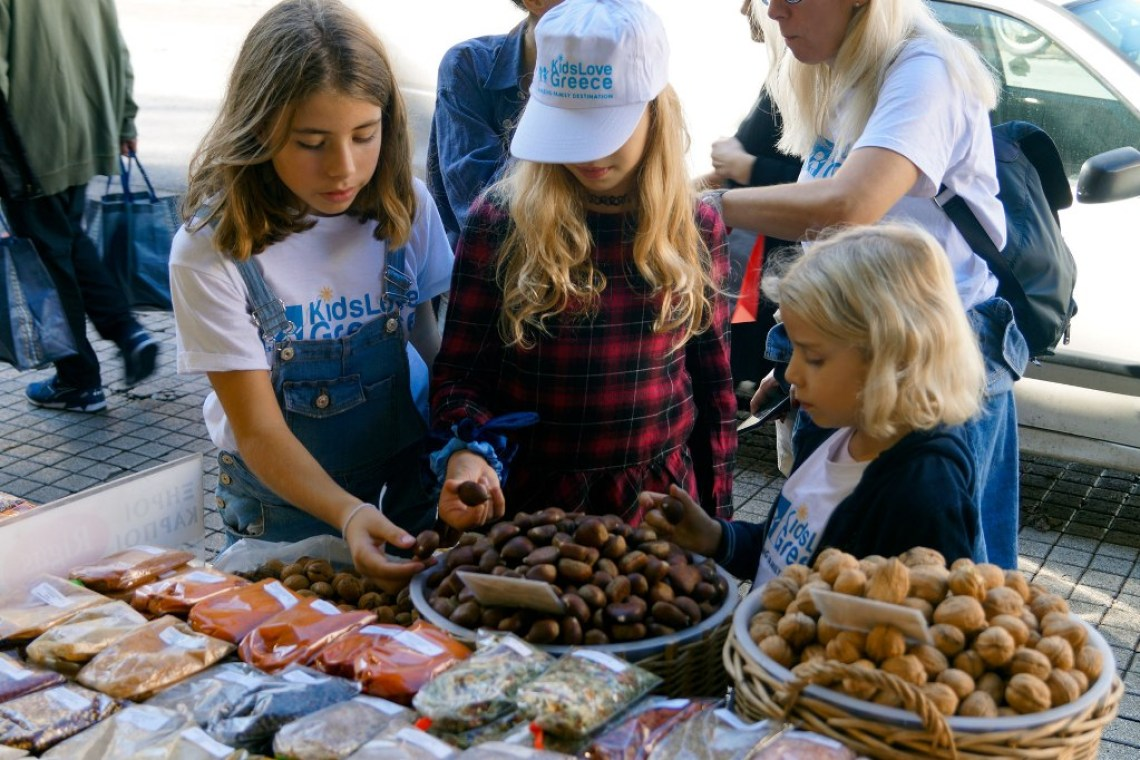 Kids Love Greece Mythology Food Tour for families