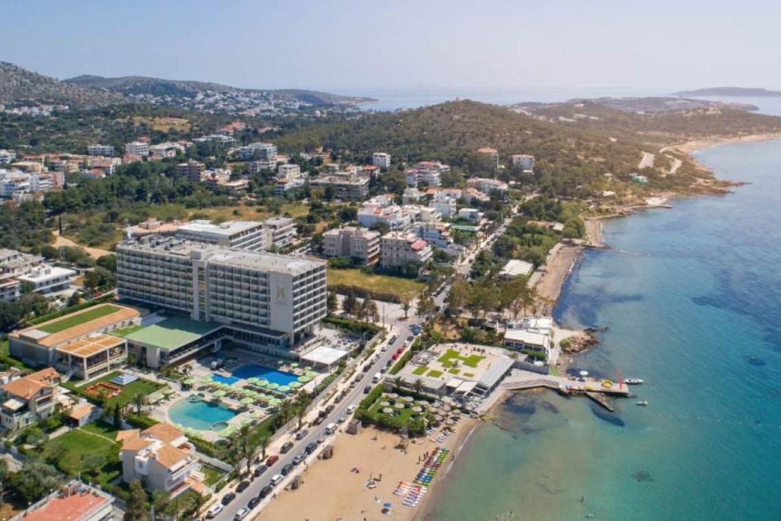 Divani Apollon Palace Hotel aerial Kids Love Greece