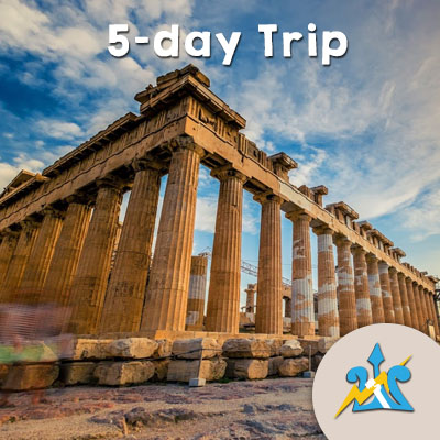 Private Percy Jackson Mythology for Families 5-day Trip