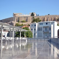 The Cafe and Restaurant at the Acropolis Museum