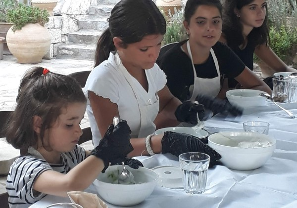 Cooking Lesson for families in Athens