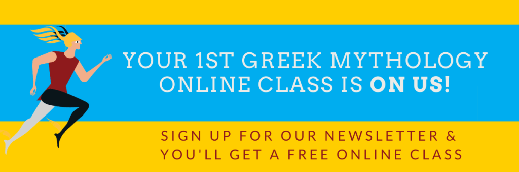 Greek Mythology Online Class for Kids - newsletter - Kids Love Greece