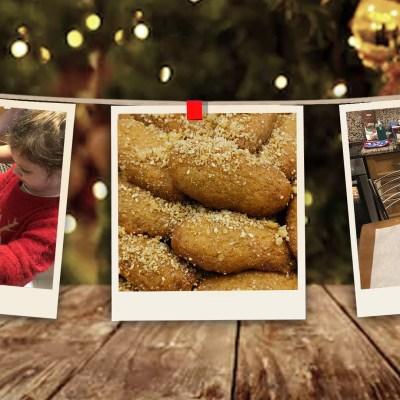 Family Baking Class: Baking Melonakarona – Greek Holiday Honey Cookies
