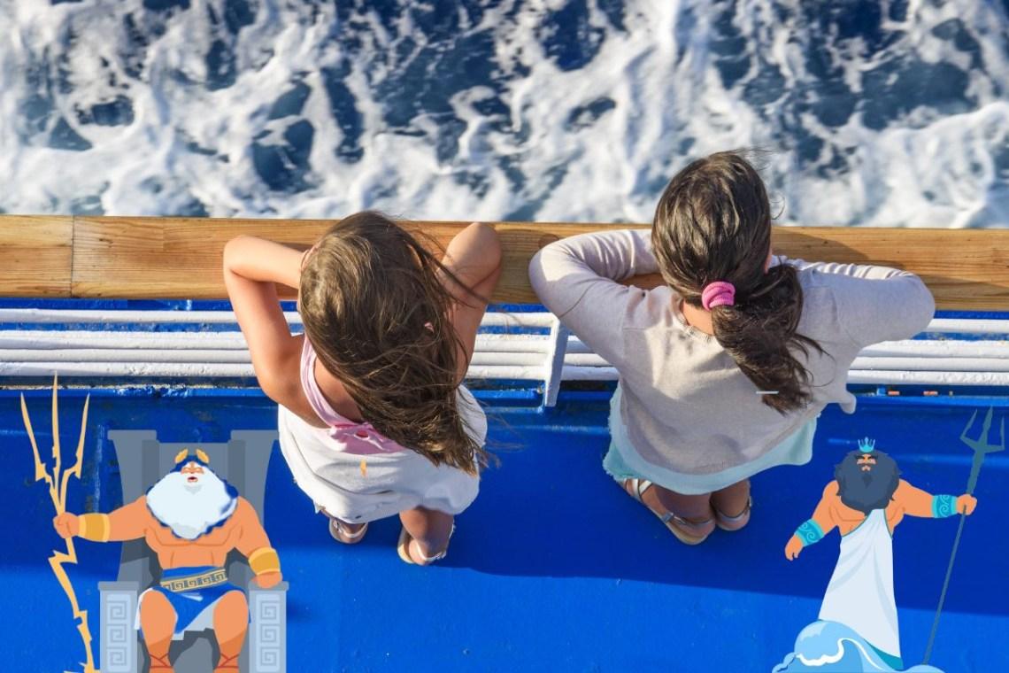Greek Islands Greek Mythology for kids DP
