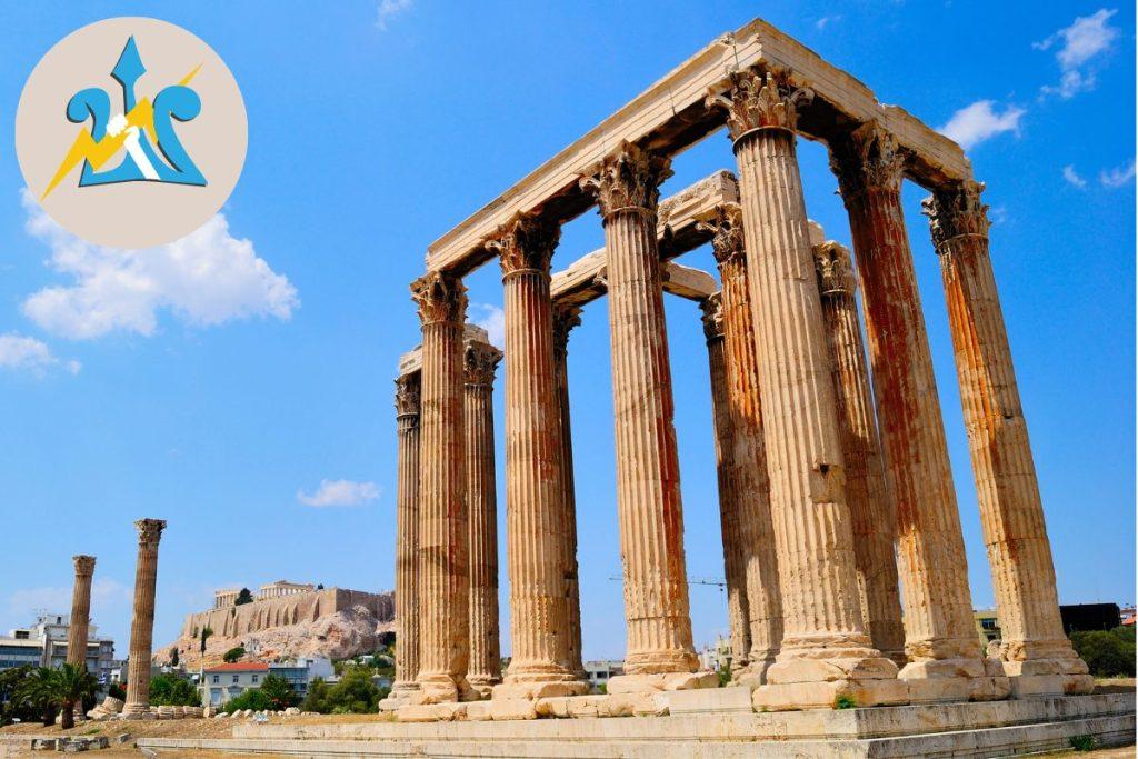 Athens Percy Jackson Tour Temple of Zeus for Kids Greece