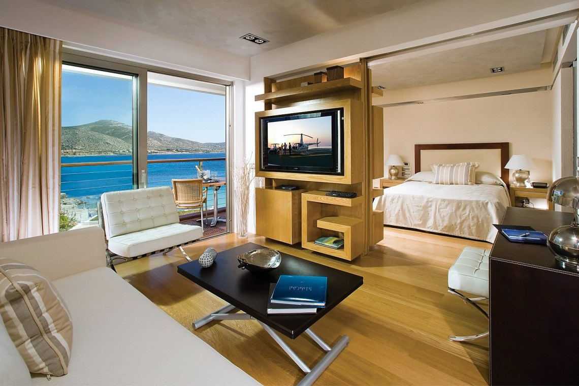 Grand Resort Lagonissi Athens riviera Family Vacation Greece room