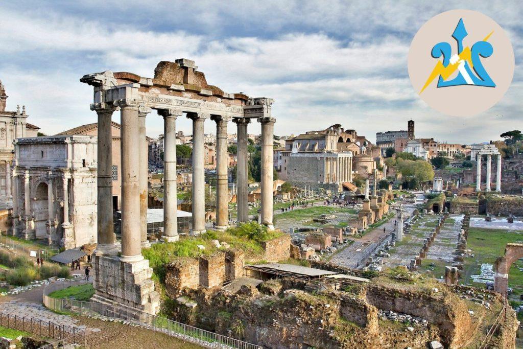 Percy Jackson Tour of Rome for Kids Italy Roman Forum DP