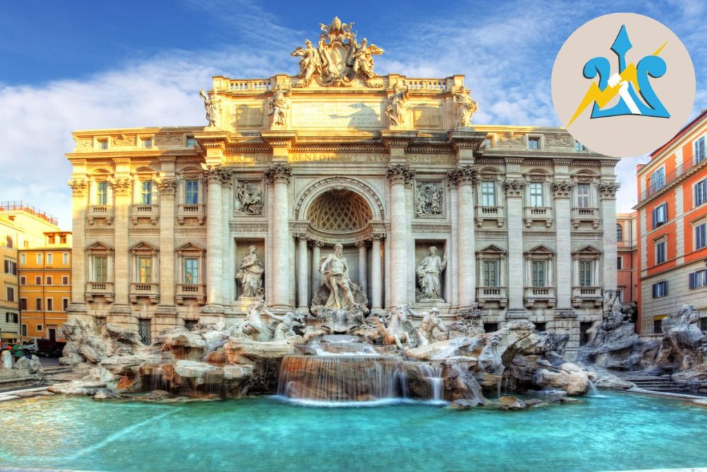Percy Jackson Tour of Rome for Kids Italy Trevi Fountain DP