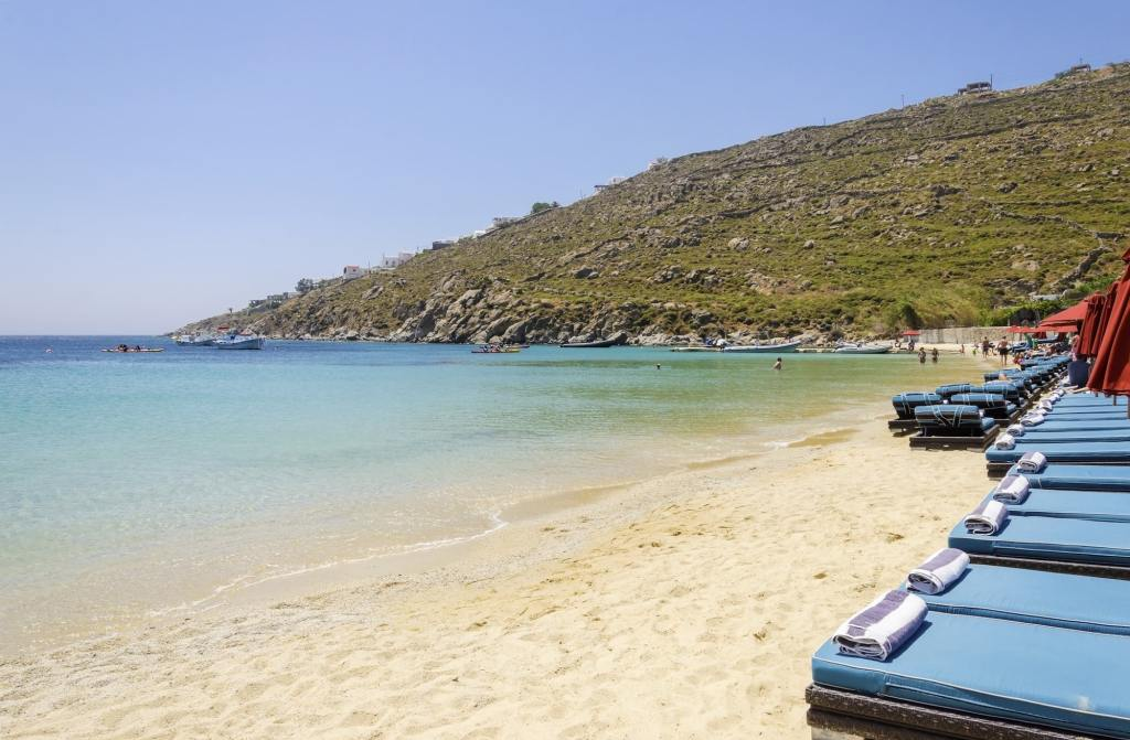 Psarou Beach Mykonos DP-min